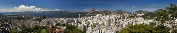 Panoramic Photo of Rio de Janeiro Brazil