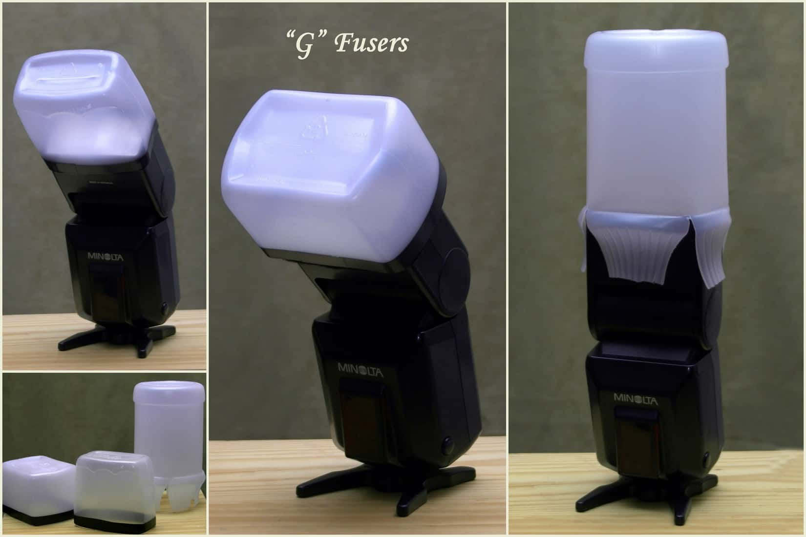 how to make a simple flash diffuser for