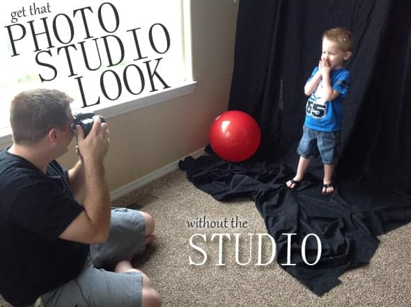 "How to get that ""photo studio look"" without a studio!  Awesome article!"