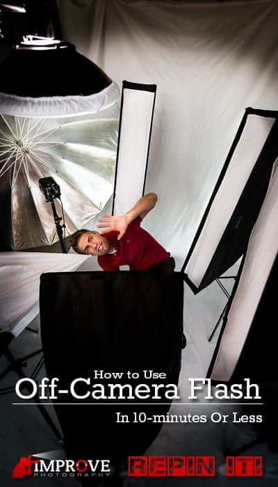 how to use off camera flash