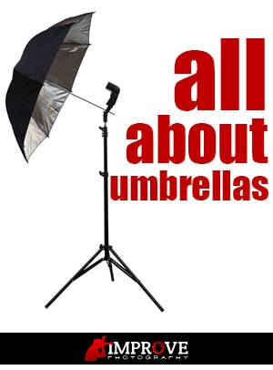 Learn how to use umbrellas in flash photography
