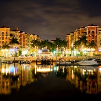 Photo of the Bayfront area in Naples Florida