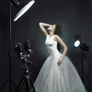 Stock photography shoot by a photographer trying to earn extra money.