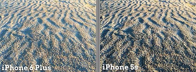 Comparison of iPhone 6 Plus and iPhone 5s cameras