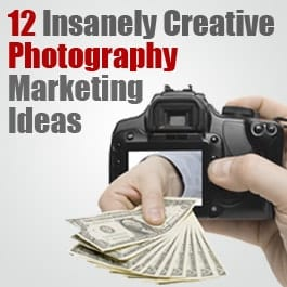 12 Insanely Creative Marketing Ideas for Professional Photographers: improvephotography.com/8215/12-insanely-creative-marketing-ideas...