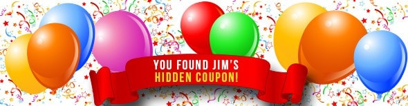 coupon code for 5% off Jim's online photography classes