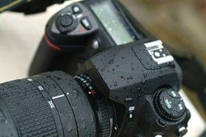 Camera a bit wet?