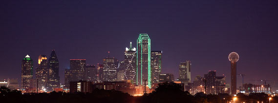 Photo of the Dallas Skyline