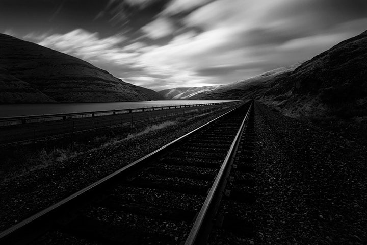 If you want to capture a long exposure while on the road, stability is key for getting a sharp image.