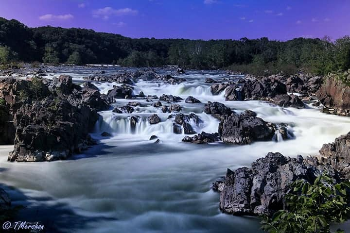 Great Falls. Photo by Tracey Mershon.