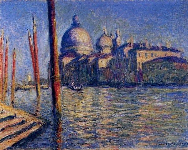 Canale Grande and Santa Maria della Salute - Monet