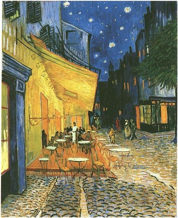 Café Terrace on the Place du Forum - Van Gogh