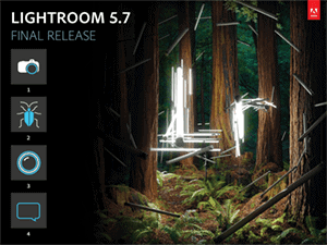 Lightroom 5.7 Update