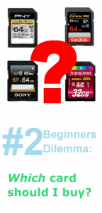 Beginner Dillema 2 - SD Card