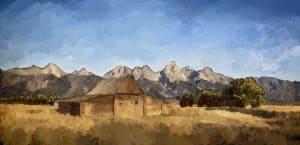 Landscape by Karen Sperling