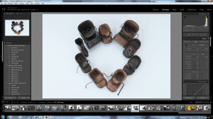 Screenshot Lightroom 5 Develop I Heart Shoes