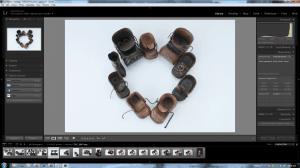 Screenshot Lightroom 5 Library I Heart Shoes