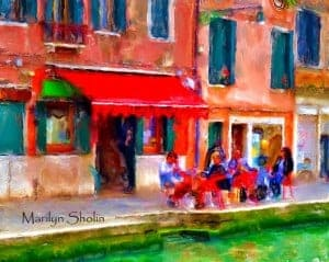 Venice by Marilyn Sholin