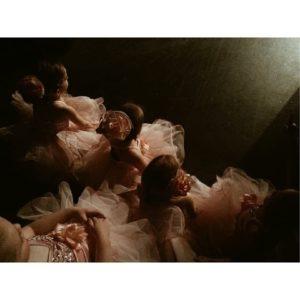 Anna Shirley dancers backstage