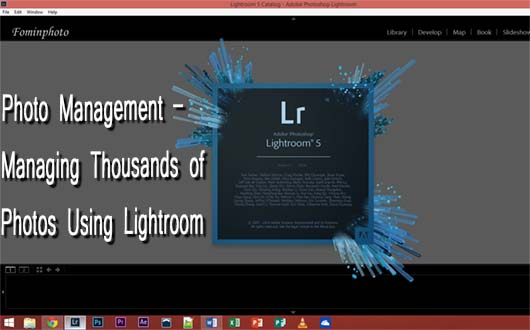 Photo Management in Lightroom Graphic