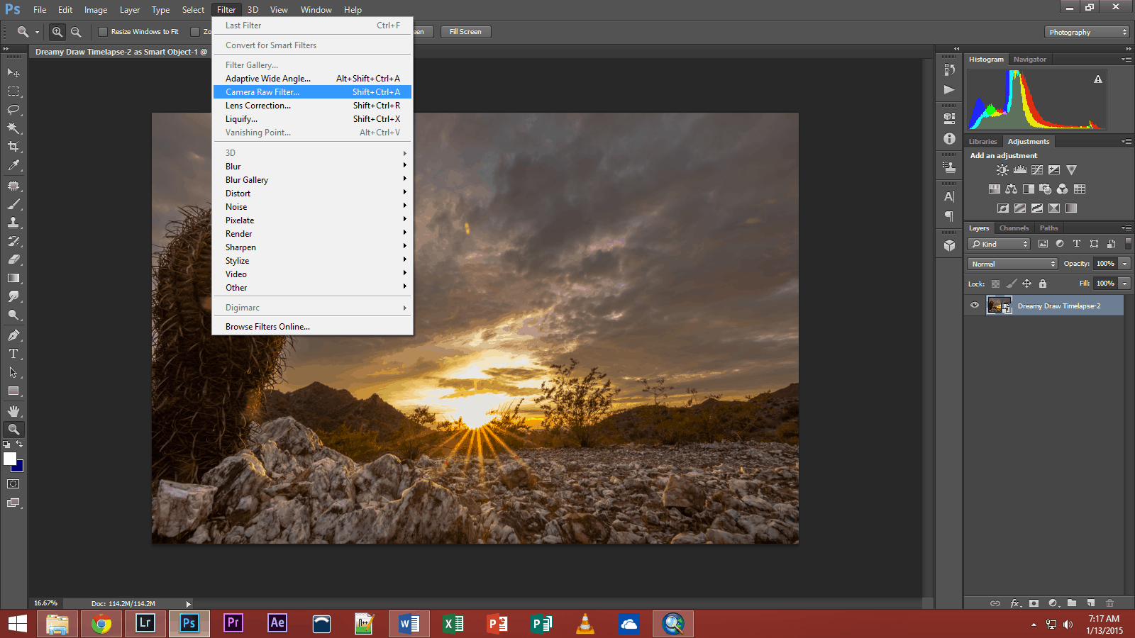 Lightroom or Photoshop Camera Raw - Improve Photography