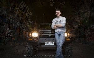 Zane and his truck