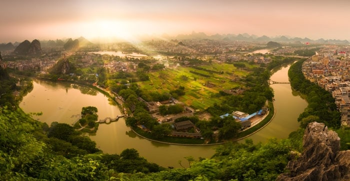 Shot this pano with my Tamron 15-30mm in Guilin, China.