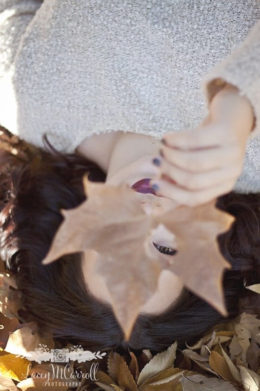Leaf Over Eye Lacey Carroll
