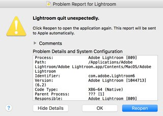 Lightroom's crashing bugs are a recent development for me, but the program has been getting slower and slower over the last 18 months. It's gotten so bad that it's time to seriously look at alternatives.