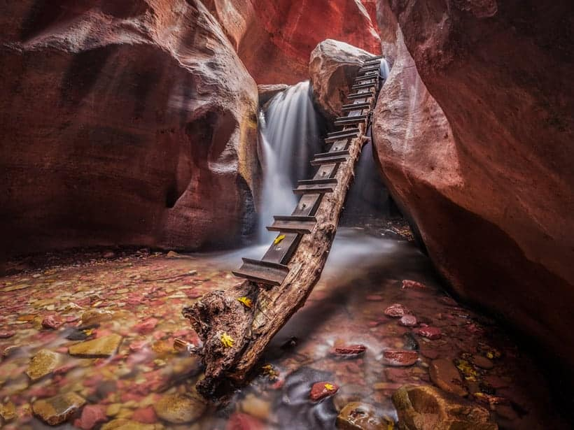 Kanarra Creek Falls in Southern Utah