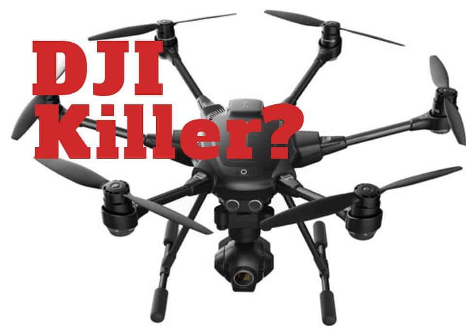 Will the feature set of the Yuneec Typhoon H destroy the DJI Phantom, or will its host of features overrun its reliability?