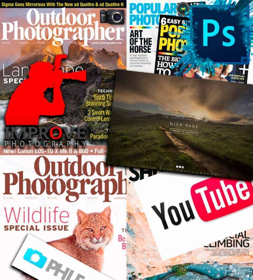 Immerse yourself into Photography. Magazines, Podcasts, books, articles, videos, etc. A photograph is a bunch of little tips all coming together to create that one epic shot you've been dreaming of creating