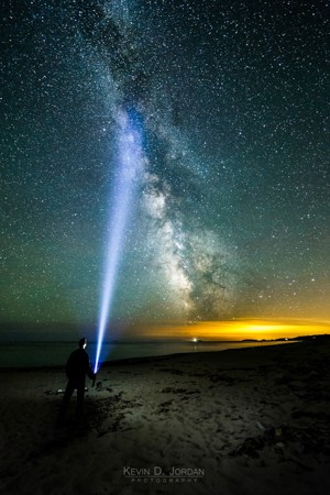 I wasn't kidding about how bright that Maglite is. (© Kevin D. Jordan Photography)