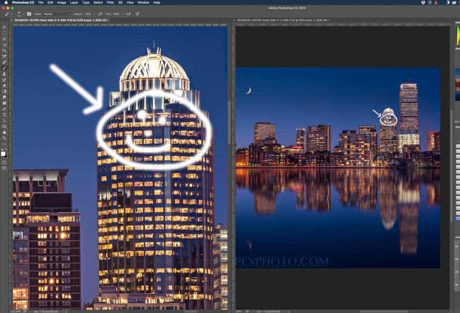 This allows you to see your overall image while working on fine details when zoomed way in!