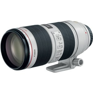 Must Have Wedding Photography Gear: An image of the Canon 70-200 IS II