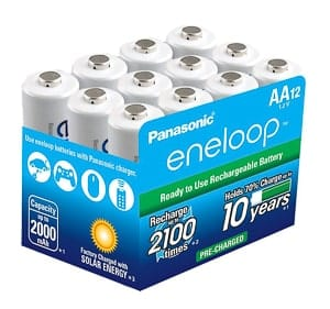Must Have Wedding Photography Gear: An image of the Envelop AA batteries