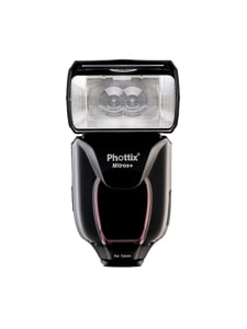 Must Have Wedding Photography Gear: An image of the Phottix Mitros + speed light