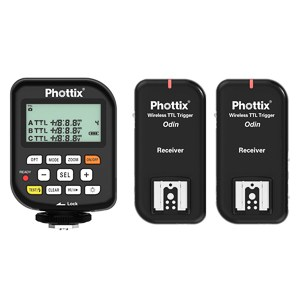Must Have Wedding Photography Gear: An image of the Phottix Odin trigger and receiver system