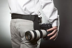 Must Have Wedding Photography Gear: An image of the Spider Pro Holster