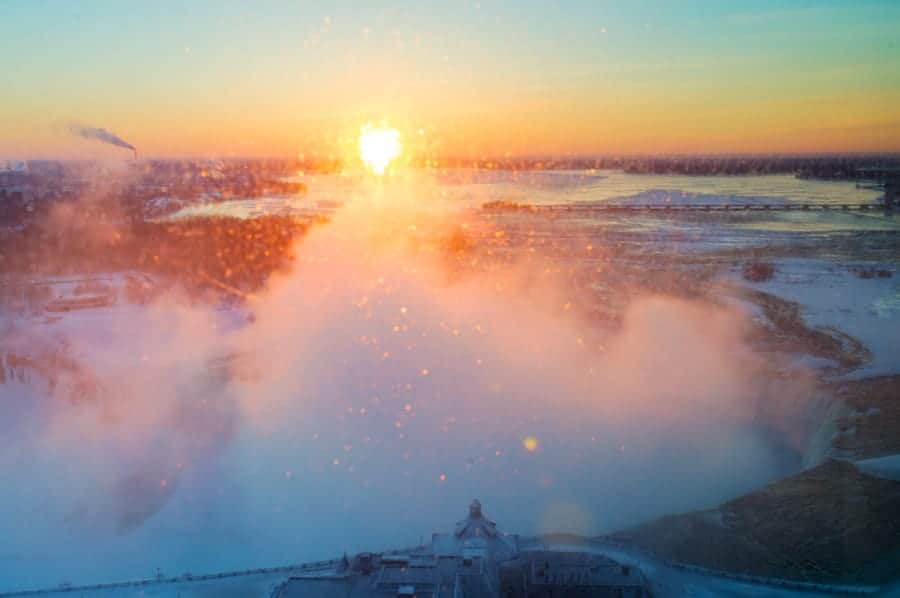 I used TPE a few years ago, to select this hotel that would give me a great angle on the sunrise over Niagara Falls. What it couldn't tell me (and for some reason, common sense DIDN'T tell me) was that I would be SO close to the falls that the windows would be covered in spray. Doh.