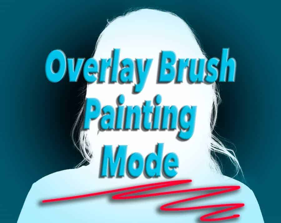 "Using the brush tool in Overlay (Or softlight) blend mode will allow you to apply paint selectively without having to worry about going over the ""edges"""