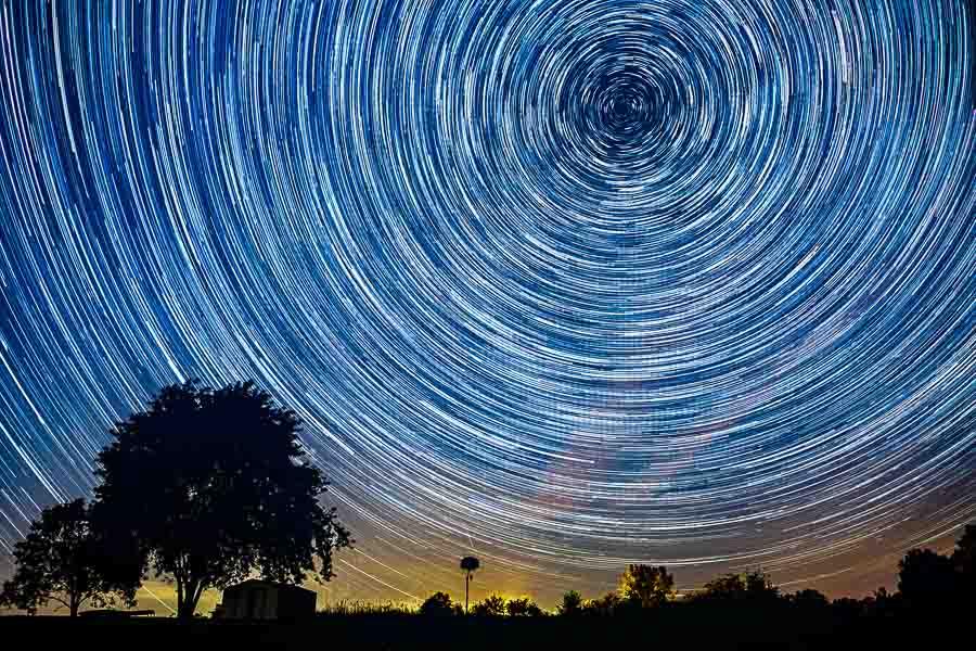 Image result for stars trail
