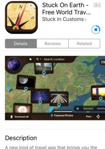 The Stuck On Earth app is a great location scouting app for photographers.