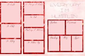 Post-wedding workflow - A photo of my desktop workflow organizer