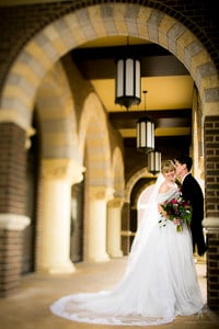 Post-Wedding Workflow - A photo of a bride and groom