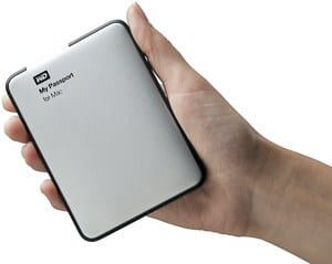 Post-wedding workflow - A photo of the My Passport for Mac hard drives, available on Amazon.
