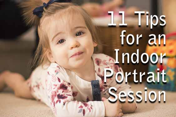 11 Tips for Indoor Portrait Photography – Improve Photography