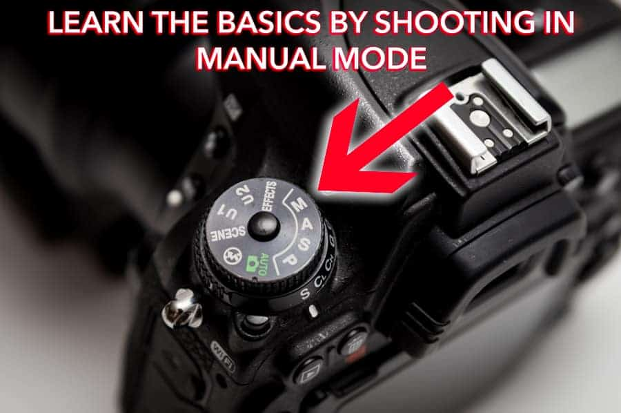 Learning to shoot in manual will explain everything you need to know about the exposure triangle - the basis of all photography