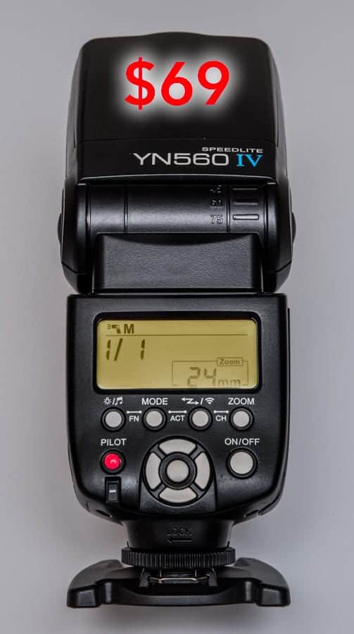 The best deal in Photography Today - The YN560-IV for $69 (As of this writing 7/19/2016)