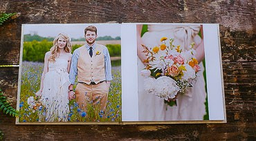Post-Wedding Workflow - an image of a Loktah album